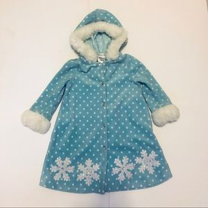 Bonnie Jean Jackets & Coats - Bonnie Jean Elsa inspired toddler coat